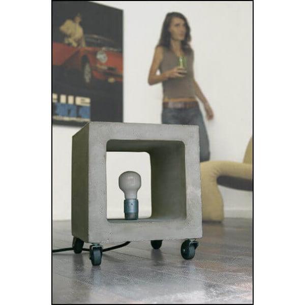 Lampe béton à roulettes Nomade 1019