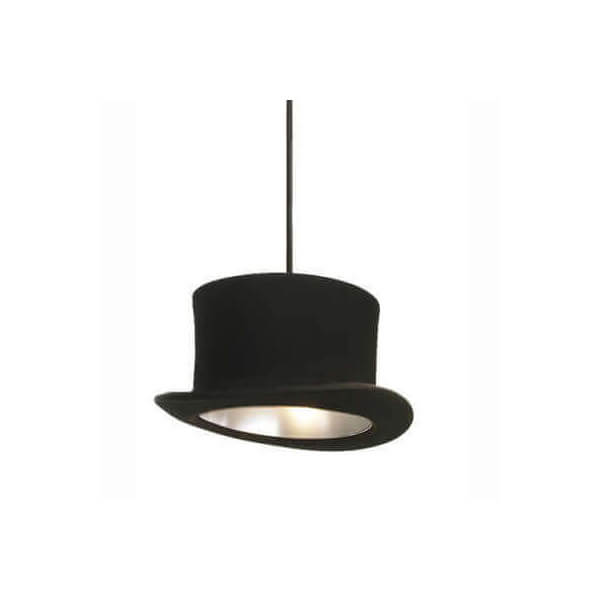 lustre chapeau claque vente suspension luminaire design lampe contemporaine sur mathi design. Black Bedroom Furniture Sets. Home Design Ideas