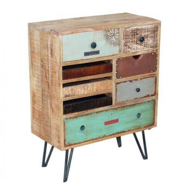 meuble rangement bois atypique. Black Bedroom Furniture Sets. Home Design Ideas