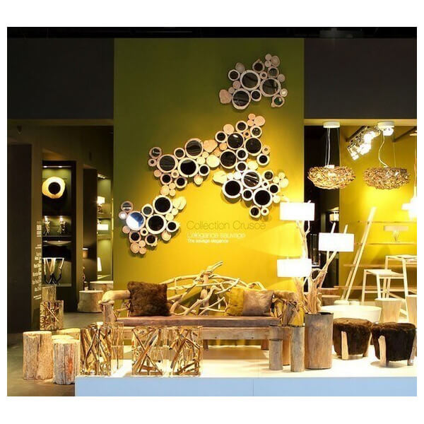 bleunature magasin officiel miroir bois flott bleu nature vendu en ligne. Black Bedroom Furniture Sets. Home Design Ideas