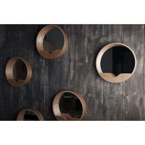 miroir design nature en ch ne dans la tendance ecologie zen