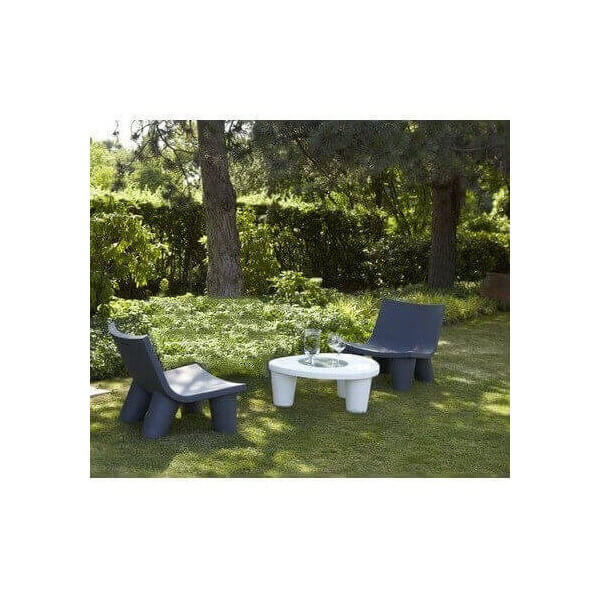 Slide salon de jardin design low lita prix import for Salon de jardin prix