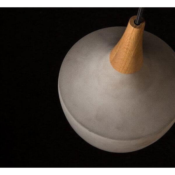 suspension b ton vaso melange de mati res design. Black Bedroom Furniture Sets. Home Design Ideas
