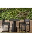 Table Ikon noire Pedrali