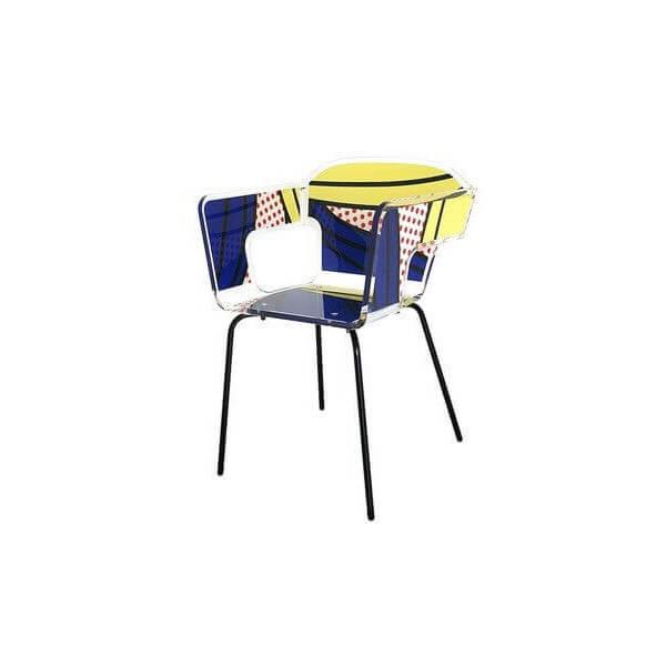 Acrila chaise alnoor acrila chaise en acrylique for Chaise en acrylique