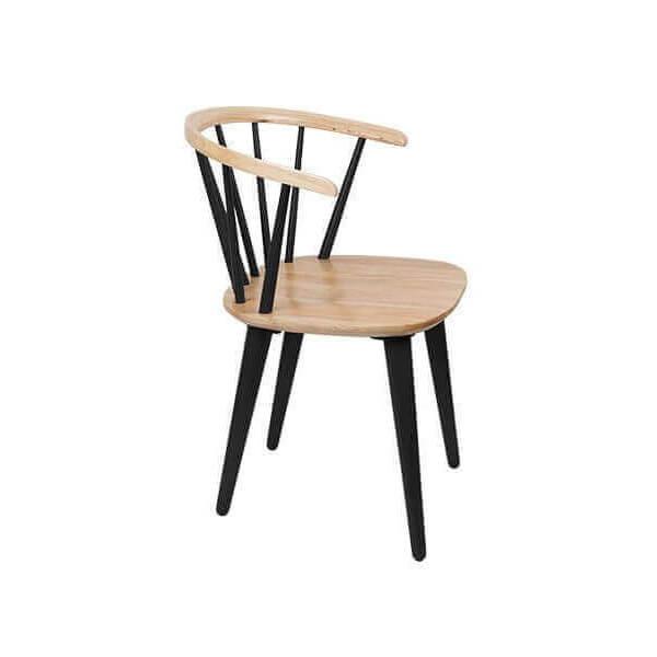 chaise style su dois en bois nature un design scandinave. Black Bedroom Furniture Sets. Home Design Ideas