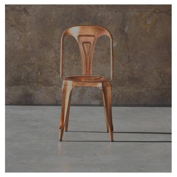 chaise multipl 39 s copper chaise industrielle en metal vendue par mathi design. Black Bedroom Furniture Sets. Home Design Ideas