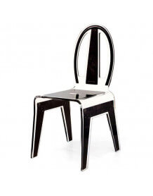 Chaise industrielle Acrila