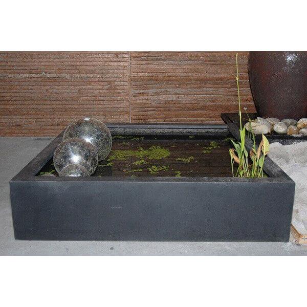 Bassin b ton design zen mathidesign vente en ligne mobilier b ton zen for Bassin design