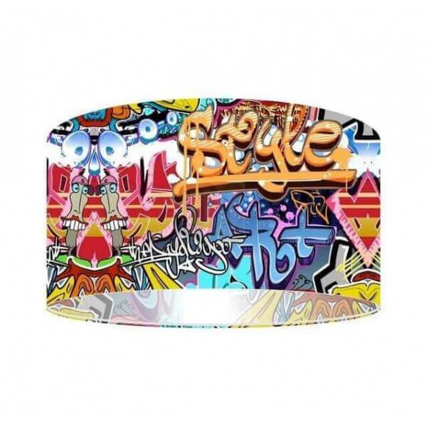 lampadaire design graffiti tags d co street art pour jeune adolescent. Black Bedroom Furniture Sets. Home Design Ideas
