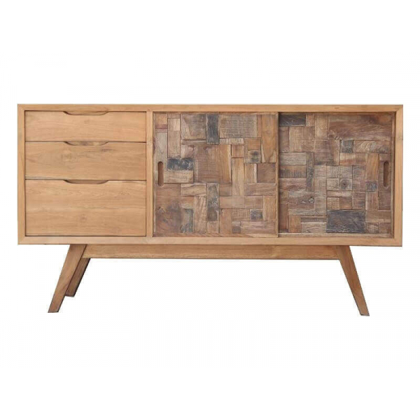Scandinavian wooden furniture nordic style teck furnishings mathi design - Commode buffet design ...