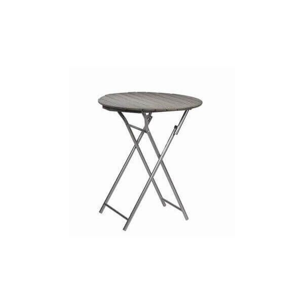Table d 39 appoint ronde pliante for Petite table pliante