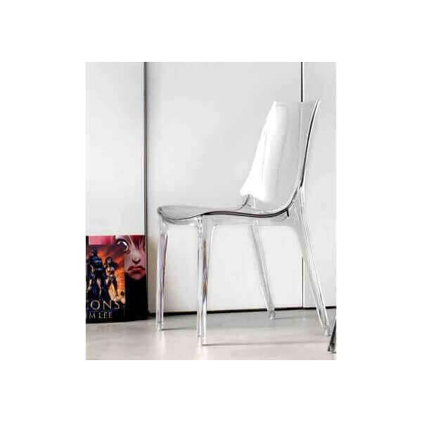 Chaise transparente Lypo 511
