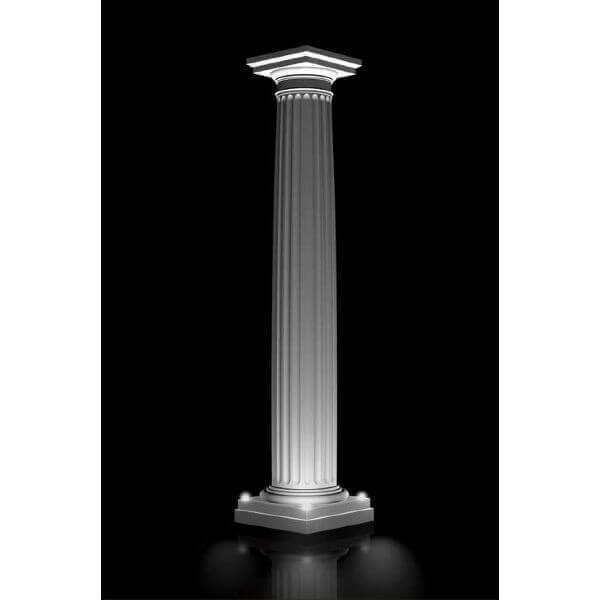 colonne triomphale lumineuse de d coration romaine pour. Black Bedroom Furniture Sets. Home Design Ideas