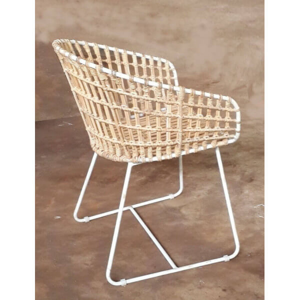 fauteuil design rotin ibiza. Black Bedroom Furniture Sets. Home Design Ideas