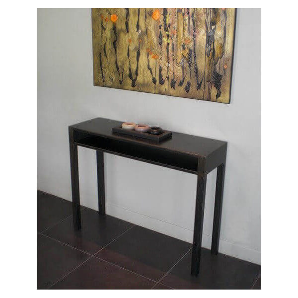 Mobilier acier tables meubles tv consoles mathi design for Console meuble tv