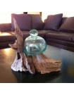 Décoration bois et verre