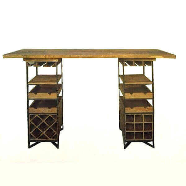 bar vin table d gustation. Black Bedroom Furniture Sets. Home Design Ideas