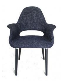 Fauteuil Oslo Tweed noir