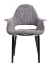 Fauteuil Oslo Tweed gris
