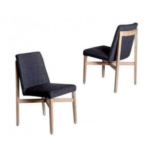 set of 2 purple chairs Trianon