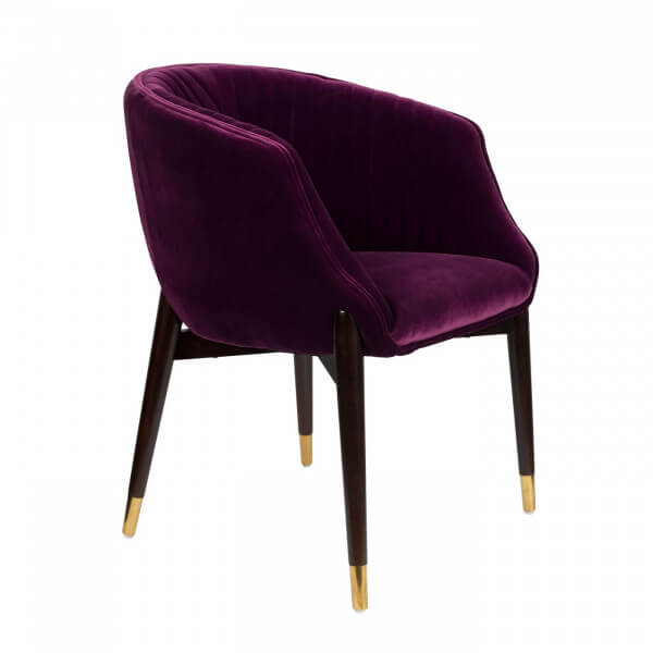 Purple Dolly Armchair