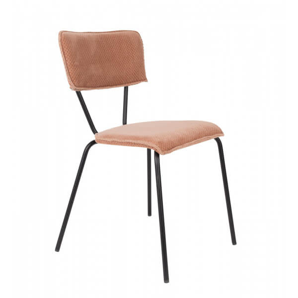 Chaise repas Melonie rose
