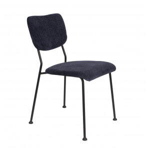 Dark blue Benson dining Chair