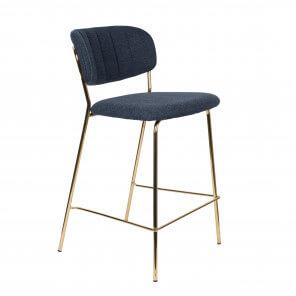 Chaise de bar Bellagio bleu