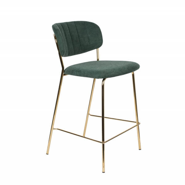Chaise de bar Bellagio vert