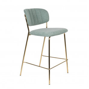 Chaise de bar Bellagio vert claire
