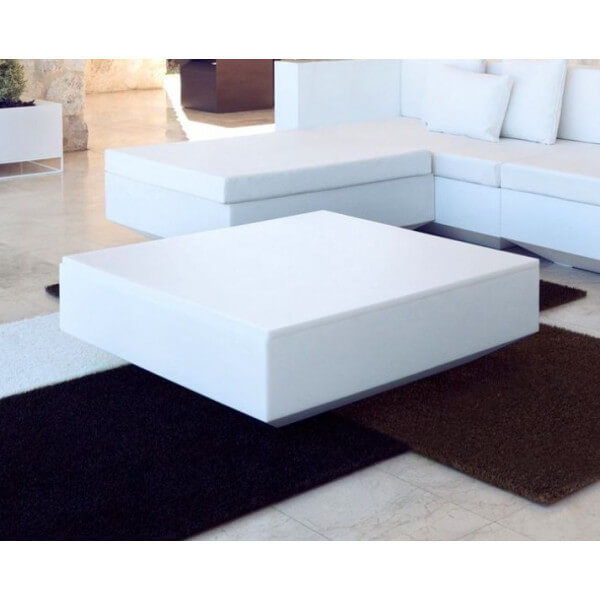 Table basse Vela Vondom blanche