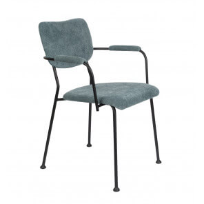 Grey blue Benson Armchair