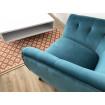 Blue Lulea armchair