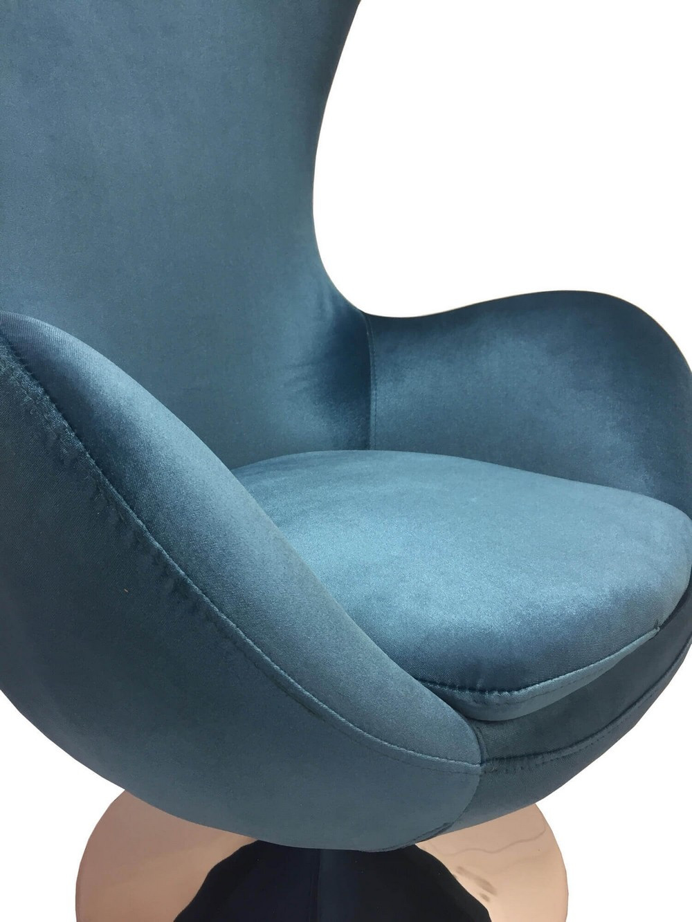 Blue Design armchair Suède.