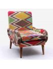 SHAKI - Colorful kilim armchair