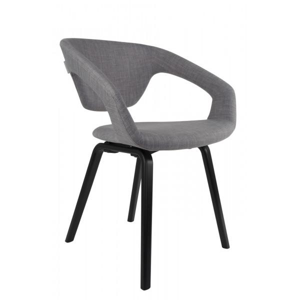Grey Flexback Chair