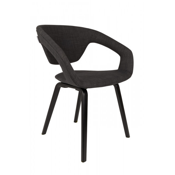 Dark Grey Flexback Chair