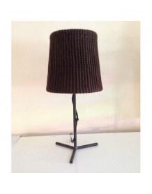 Lampe laine crochet