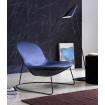 Fauteuil Design contemporain Duck bleu