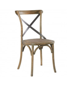 Oak bistrot chair