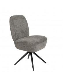 DUSK - Fauteuil design gris zuiver