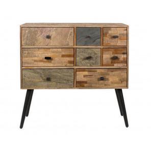 petit meuble tiroirs vintage