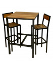 ATELIER - Heigh dining set 70