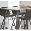 Heigh Kitchen Table with Zenon stools