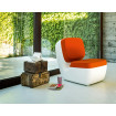 Orange Nimrod chair by Magis