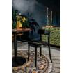 BRANDON - Chaise de repas noir dutchbone