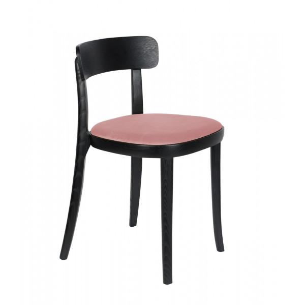 BRANDON - Chaise de repas rose