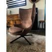 Torini - brown design armchair