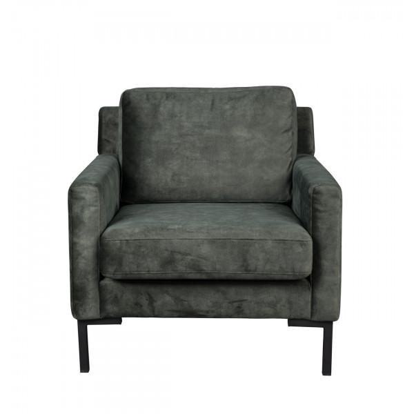 HOUDA - fauteuil gris Forest